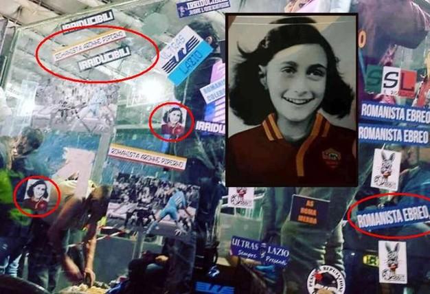 Nessuno si ricorda di quando Anna Frank tifava Lazio?
