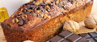 Ricette facili: Plumcake di banane e cioccolato alle noci